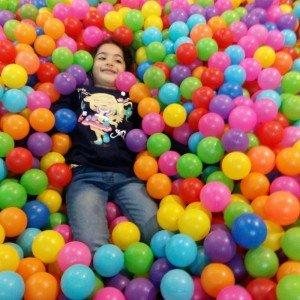 توپ رنگی  استخر توپ کودک بسته 1000تایی کد005