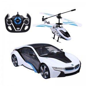 ست ماشین و هلیکوپتر بی ام و کنترلی  rastar 4960014