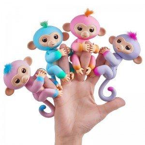 ربات میمون انگشتی بنفش fingerlings 37204