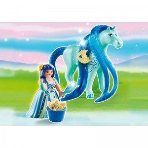 Princess Luna with horse 6169