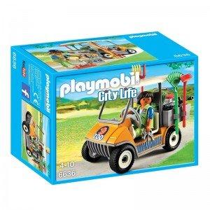 پلی موبيل مدل  Zookeeper's Cart playmobil 6636