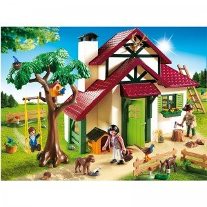 پلی موبيل مدل  Forest Ranger's House playmobil 6811