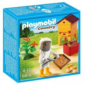پلی موبيل مدل  Bee Keeper With Honey playmobil 6818