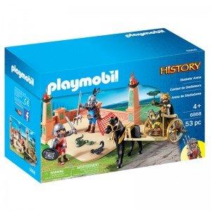 پلی موبيل مدل Roman Gladiator Arena StarterSet playmobil 6868
