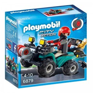 پلی موبيل مدل Robber's Quad with Loot playmobil 6879