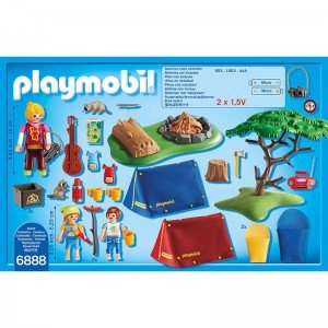 camp sit playmobil