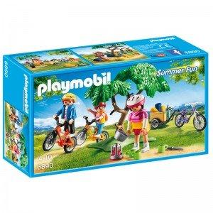 پلی موبيل مدل   Biking Trip playmobil 6890