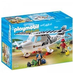 پلی موبيل مدل safari plane playmobil 6938
