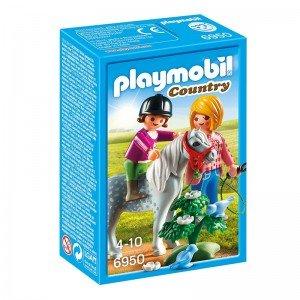 پلی موبيل مدل Pony Walk playmobil 6950