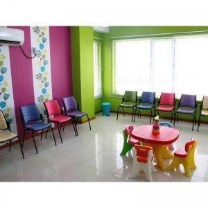 پخش صندلی کودک 102 قرمز زرد