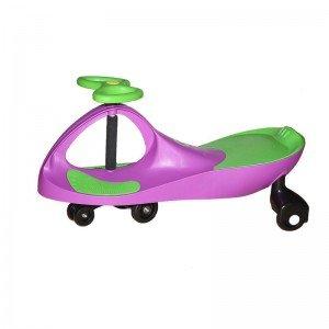 سه چرخه پلاسماکار کودک رنگ بنفش سبز چمنی کد k04