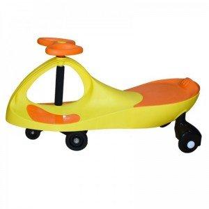 سه چرخه پلاسماکار کودک رنگ زرد نارنجی کد plasmacar k02