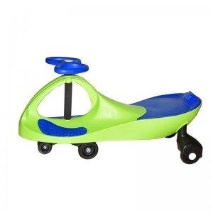 سه چرخه پلاسماکار کودک رنگ سبز فسفری آبی کد k08