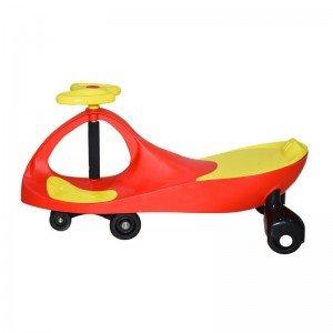 سه چرخه پلاسماکار کودک رنگ قرمز زرد کد plasmacar k11