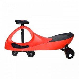 سه چرخه پلاسماکار کودک رنگ قرمز مشکی کد k01