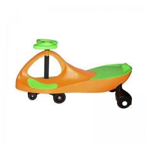 سه چرخه پلاسماکار کودک رنگ نارنجی سبز چمنی کد k09