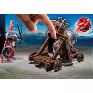 پلی موبیل مدل playmobil Hawk Knights' Battle Cannon 6038