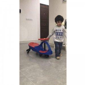 قیمت سه چرخه پلاسماکار کودک رنگ قرمز مشکی کد k01