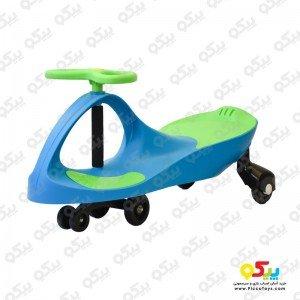 فروش سه چرخه پلاسماکار کودک رنگ آبی روشن سبز