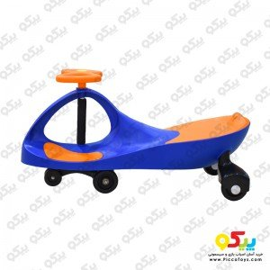 سه چرخه پلاسماکار کودک رنگ آبی نارنجی کد plasmacar k05