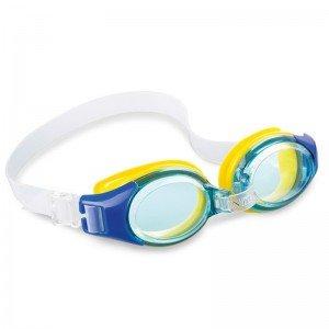 عینک شنا آبی intex 55601