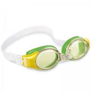 عینک شنا سبز intex 55601
