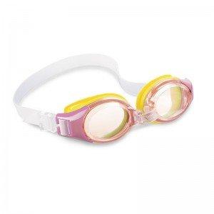 عینک شنا صورتی intex 55601