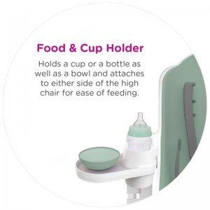 محل قرار دادن غذا و لیوان صندلی غذا oribel cocoon