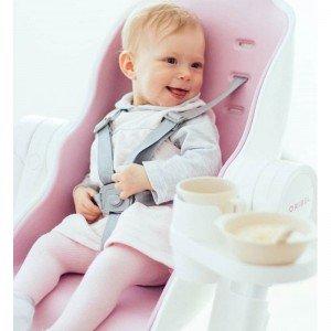 راحتی در صندلی غذا oribel cocoon رنگ صورتی
