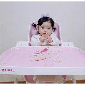 سینی صندلی غذا oribel cocoon رنگ صورتی