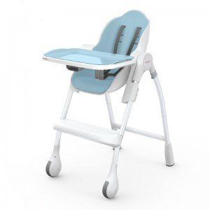 صندلی غذا oribel cocoon رنگ آبی