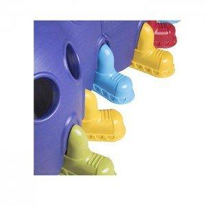 ترکیب رنگ جذاب تونل هزارپا ایرانی بنفش کد 5008