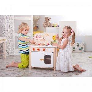 آشپزخانه چوبی TREFL Wooden Toy -kitchen 60654