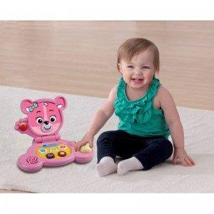 لپ تاپ آموزشی ، هوش و سرگرمی خرسی وی تک Baby bear Laptop vtech 144753
