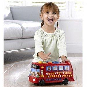 اتوبوس اسباب بازی وی تک بهترین هدیه برای کودکان