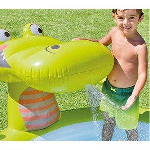 استخر تمساح فواره دار intex 57431