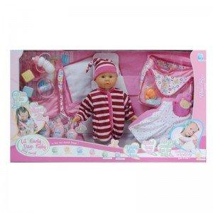 عروسک با لباس و لوازم 15335