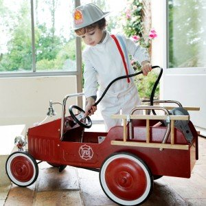 ماشین پدالی فلزی آتش نشانی FIREMAN TRUCK baghera 1938fe