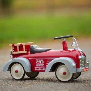 ماشین پایی فلزی آتش نشانی FIREMAN TRUCK baghera 1938fe
