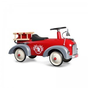 ماشین کودک پایی فلزی آتش نشانی Speedster Fireman baghera 838