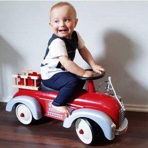 ماشین پایی فلزی آتش نشانی Speedster Fireman baghera 838