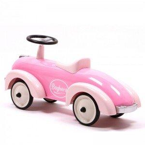 ماشین کودک پایی فلزی Speedster pink baghera 882