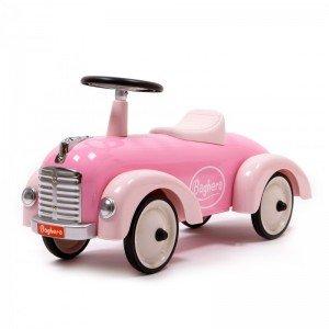 ماشین پایی فلزی کودک Speedster pink baghera 882