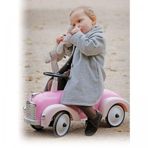 آرامش با ماشین پائی فلزی Speedster pink baghera 882