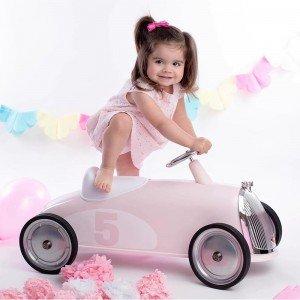 ماشین پائی فلزی rider petal pink baghera 831