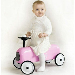 ماشین پائی فلزی Racer Pink  baghera 804