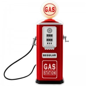 پمپ بنزین فلزی  Gas Pump baghera 19888