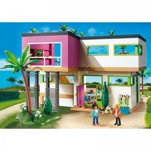 خانه لوکس پلی موبیل مدل modern luxury mansion 5574