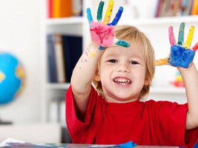 فواید رنگ آمیزی و نقاشی برای کودکان
