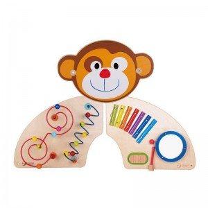 ست چوبی هوش و موسیقی میمون classic world